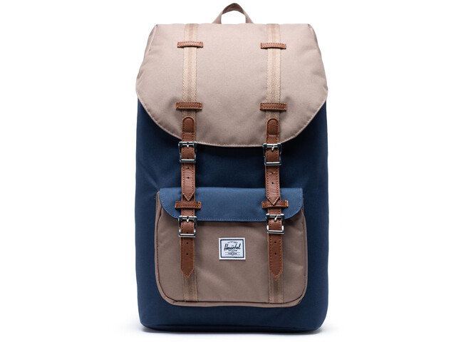 Herschel Little America Backpack navy/pine bark/tan